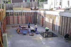 Basement Construction Ringwood Hampshire